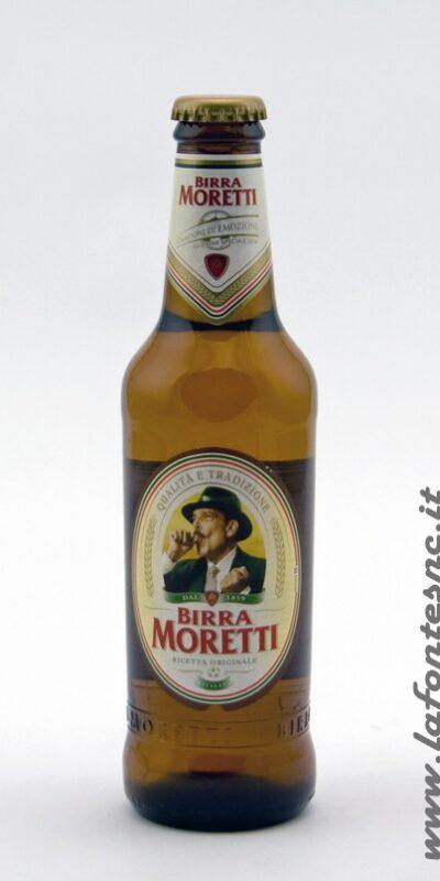 Birra Moretti 33 cl vetro