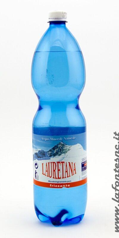Acqua Lauretana Frizzante 1,5 litri PET (6 bottiglie)