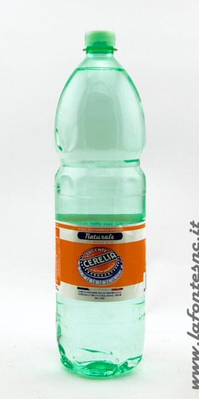 Acqua Cerelia Naturale 1,5 litri PET (6 bottiglie)