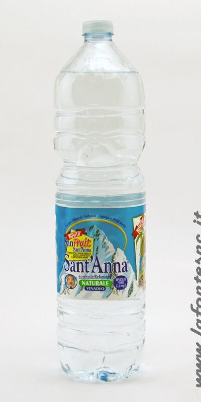 ACQUA SANT'ANNA NATURALE 1,5 LITRI PET
