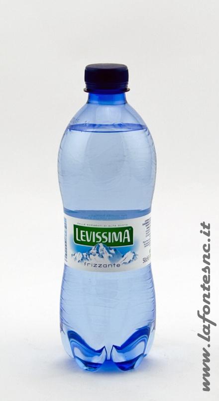 Acqua Levissima Frizzante 1/2 litro pet (24 bottiglie)