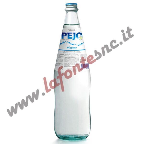 Acqua Pejo frizzante 1 litro vetro (12 bottiglie)