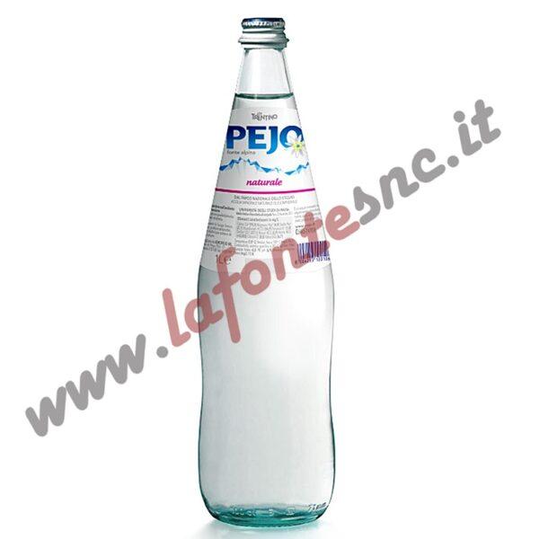 Acqua Pejo naturale 1litro vetro (12 bottiglie)