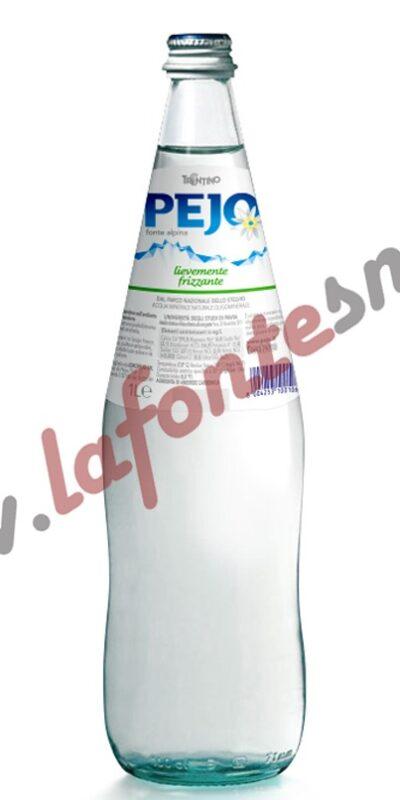 Acqua Pejo Lievemente Frizzante 1 litro vetro (12 bottiglie)