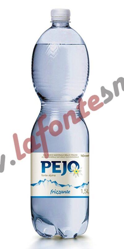 Acqua Pejo Frizzante 1,5 litri pet (6 bottiglie)