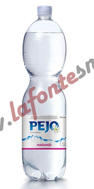 Acqua Pejo Naturale 1,5 litri pet (6 bottiglie)