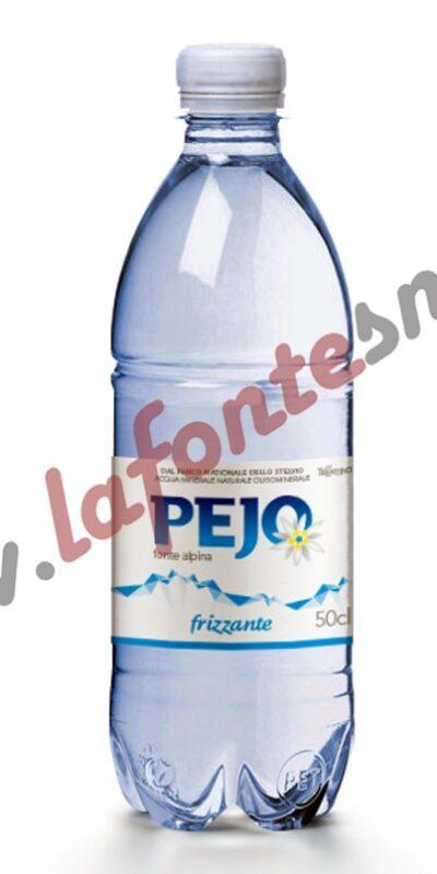 Acqua Pejo Frizzante 1/2 litro pet (20 bottiglie)