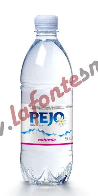 Acqua Pejo Naturale 1/2 litro pet (20 bottiglie)