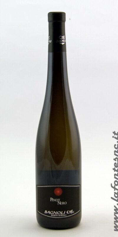 Pinot Nero DOC vinificato in bianco Frizzante Bagnoli