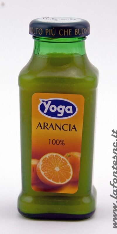 Succo yoga 200cl Arancia LineaBar