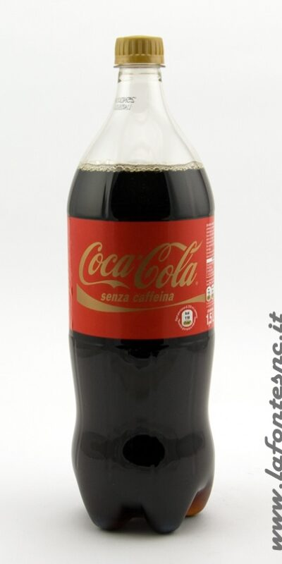 Coca Cola 1500cl Bottiglia di Plastica