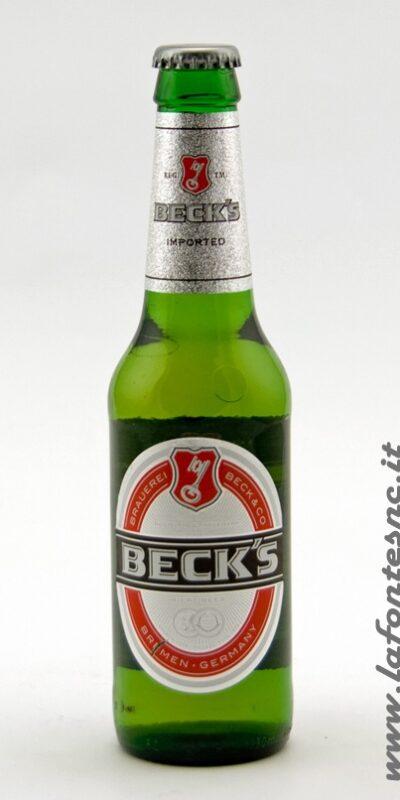 Birra Beck's 33 cl vetro