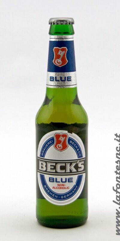 Birra Beck's Blue Analcolica 33 cl vetro