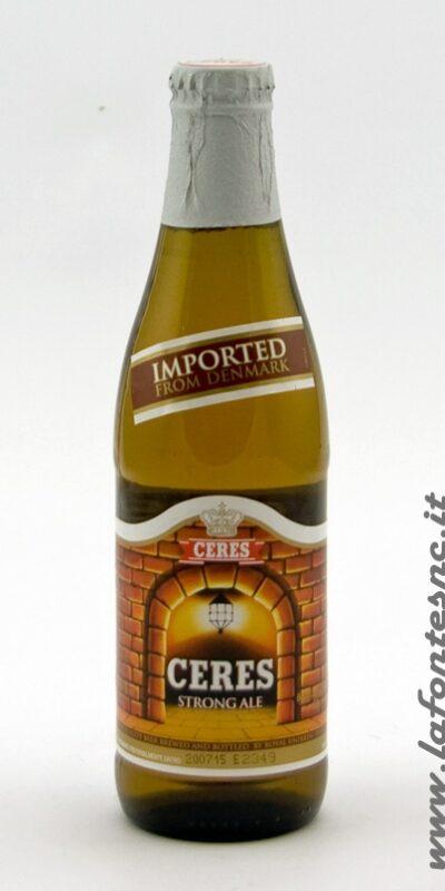 Birra Ceres Strong Ale 33 cl Bottiglia Vetro