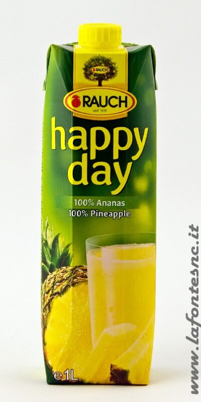 Succo Happy Day Rauch Ananas 1 Litro