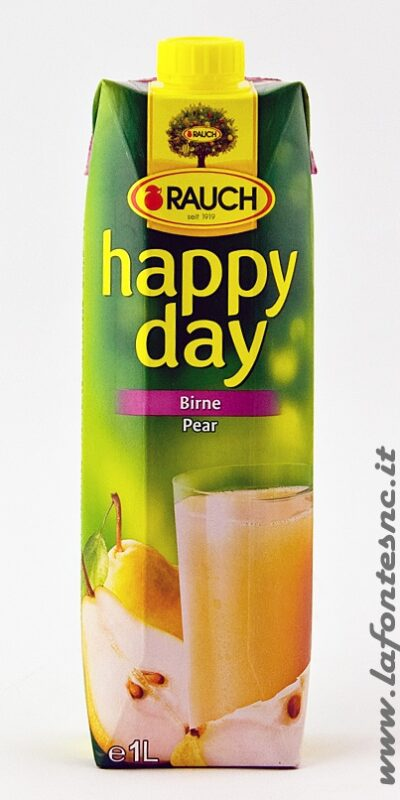 Succo Happy Day Rauch Pera 1 Litro