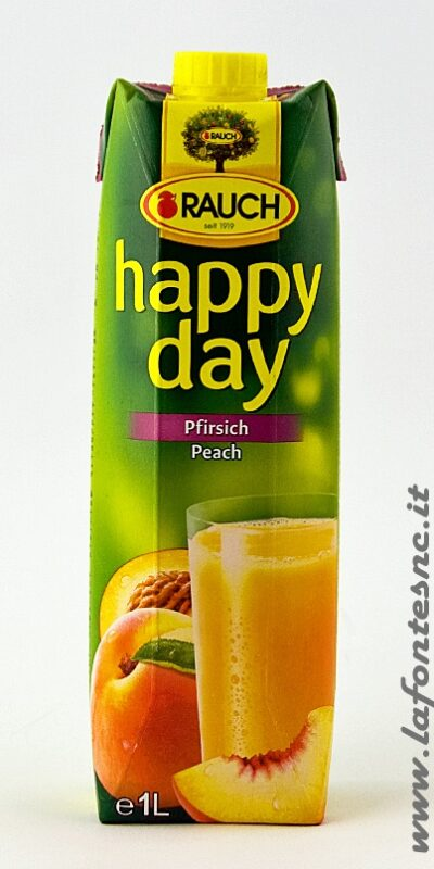 Succo Happy Day Rauch Pesca 1 Litro
