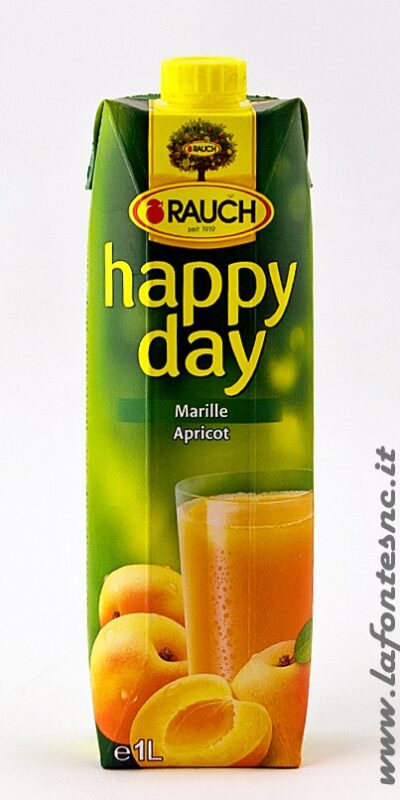 Succo Happy Day Rauch Albicocca 1 Litro