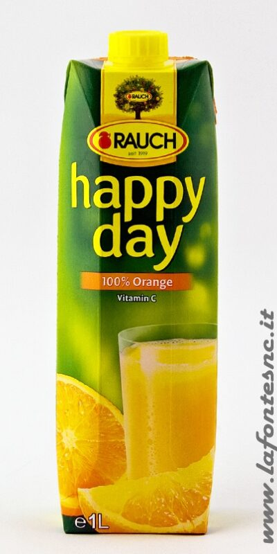 Succo Happy Day Rauch Arancia 1 Litro