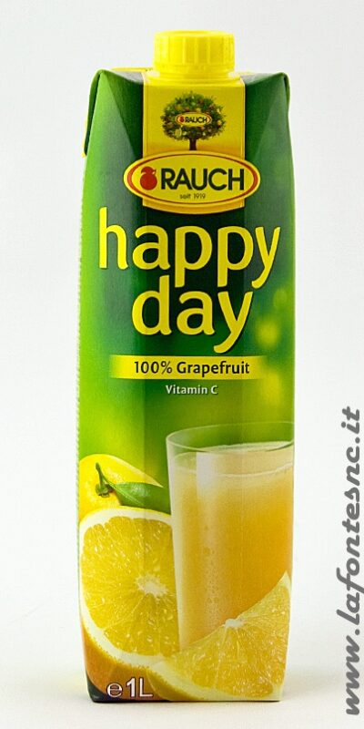 Succo Happy Day Rauch Pompelmo 1 Litro