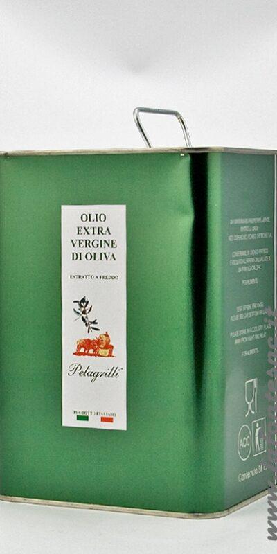 Olio Extravergine di Oliva Pelagrilli Latta 3 Litri.