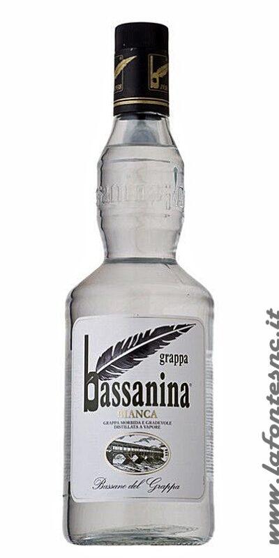 Grappa Bassanina Bianca 1 litro