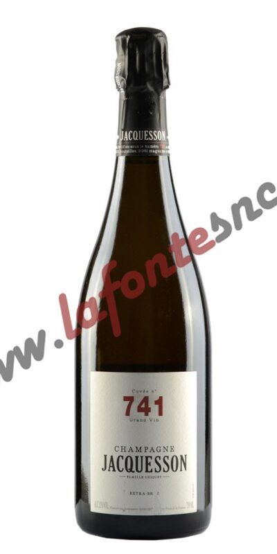 JACQUESSON 741 CHAMPAGNE EXTRA BRUT