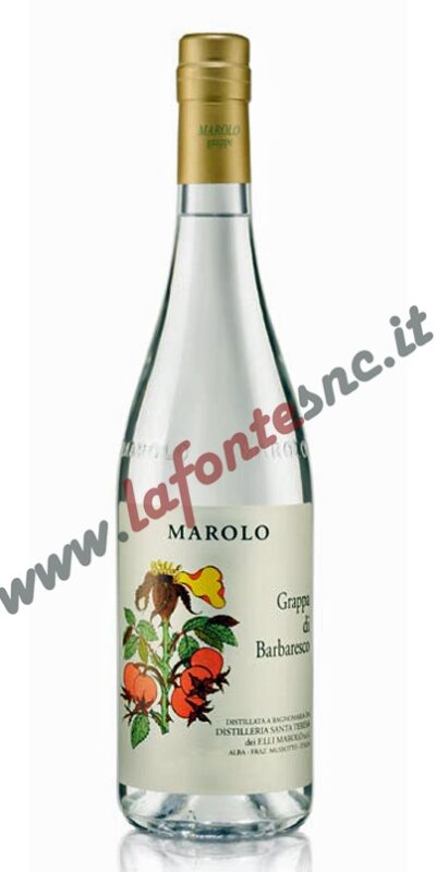 Grappa Marolo Barbaresco 70 cl.