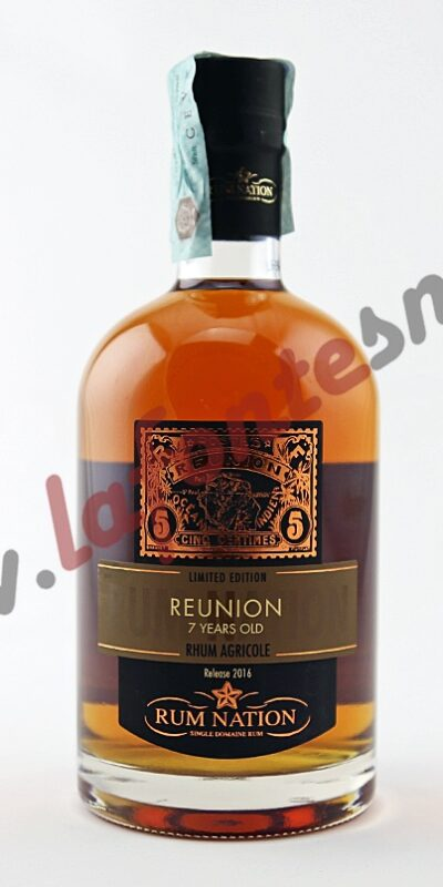 Rum Nation Reunion 7 Years Old