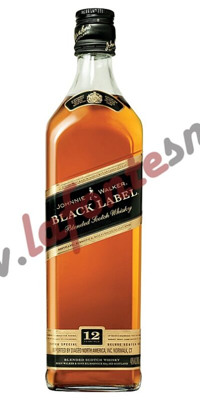 "Whisky Johnnie Walker ""Black Label"""