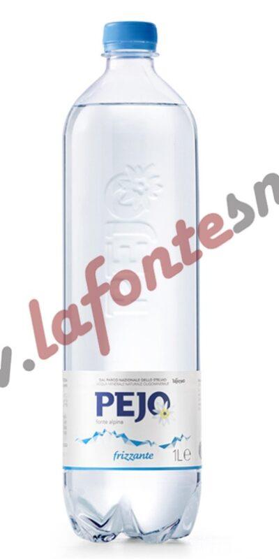 Acqua Pejo Frizzante 1 litro PET (12 bottiglie)