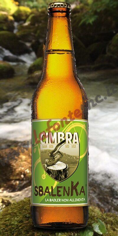 Birra Cimbra Sbalenka (Radler) 50 cl