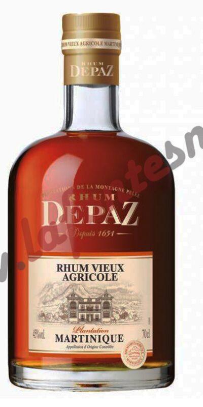 """Rum Depaz Vieux Agricole """"Plantation"""" 70 cl."""