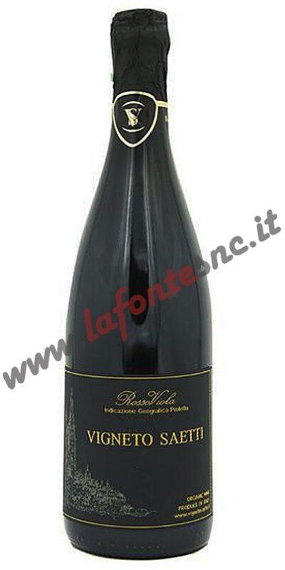 Lambrusco dell'Emilia Rosso Viola IGP Vigneto Saetti 75 cl.
