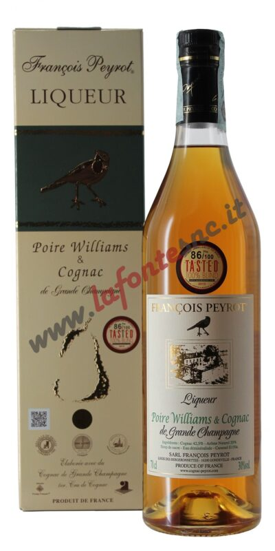 François Peyrot Cognac alla Pera Williams