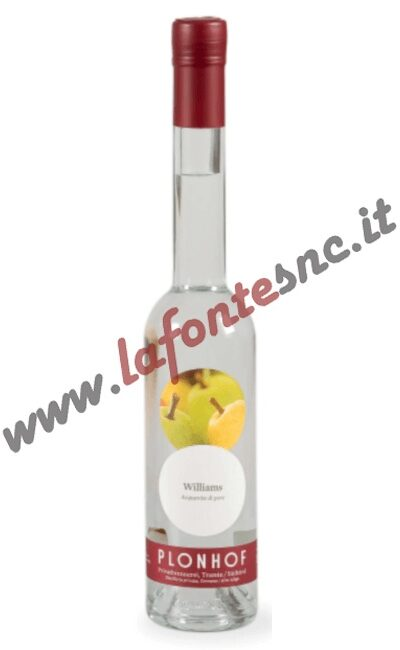 Acquavite di Pere Williams Plonhof 35 cl.