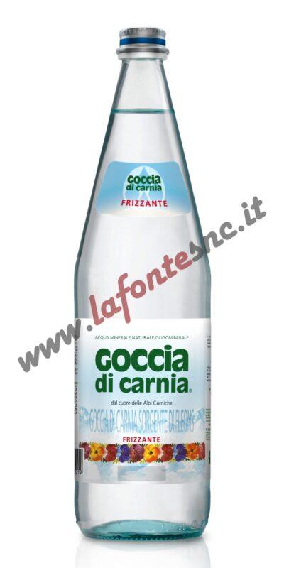Acqua Goccia di Carnia Frizzante 1 litro vetro (12 bottiglie)