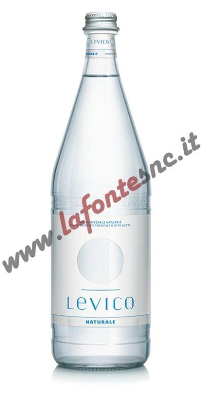 Acqua Levico Naturale 1 litro vetro (12 bottiglie)