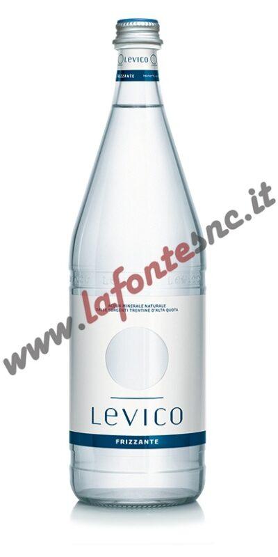 Acqua Levico Frizzante 1 litro vetro (12 bottiglie)