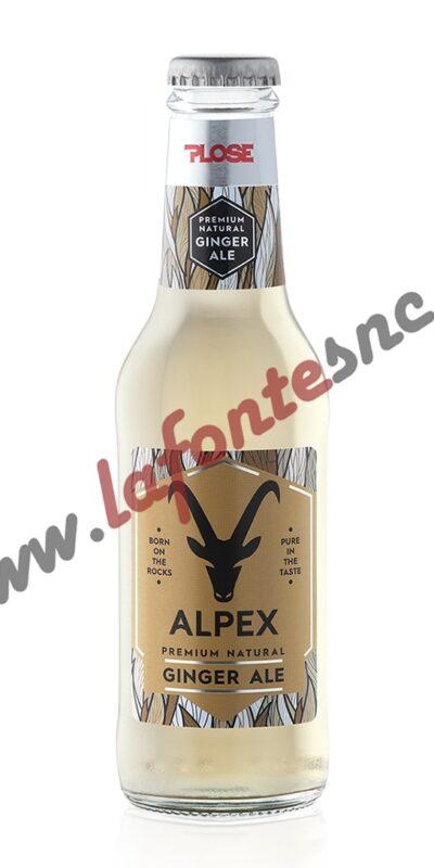 Plose Alpex Ginger Ale 20 cl.