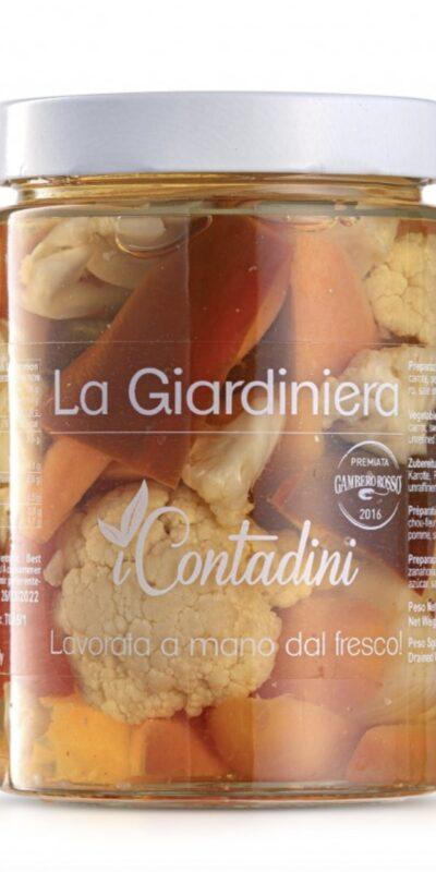 I CONTADINI GIARDINIERA IN AGRODOLCE GR. 550